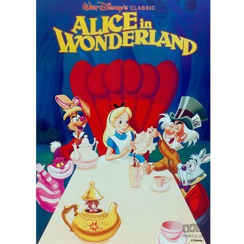 Graham&brown Obraz alice in wonderland (disney) 70-336