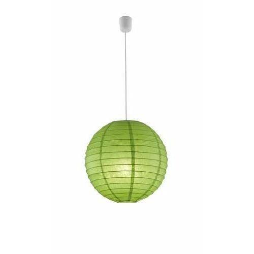 Trio PAPER 3490400-15 lampa wisząca zwis 1x60W E27 Zielony