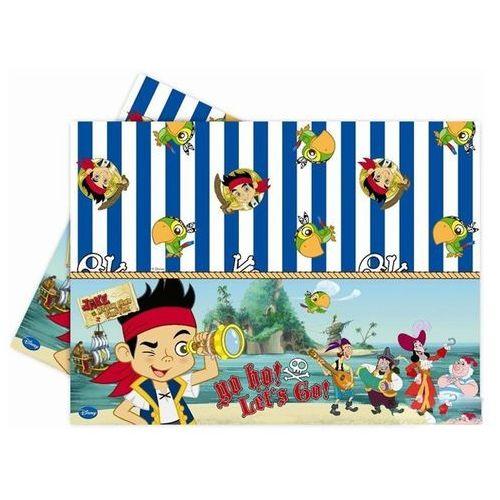 Obrus urodzinowy Jake i piraci - 120 x 180 cm - 1 szt. - produkt z kategorii- Dekoracje i ozdoby dla dzieci