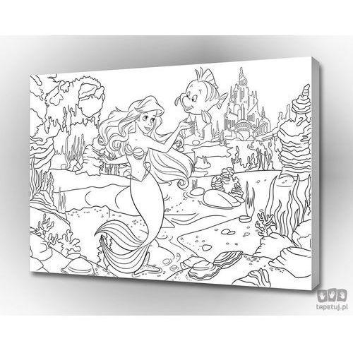Obraz arielka i jej mali przyjaciele – disney pkd590o4 marki Consalnet