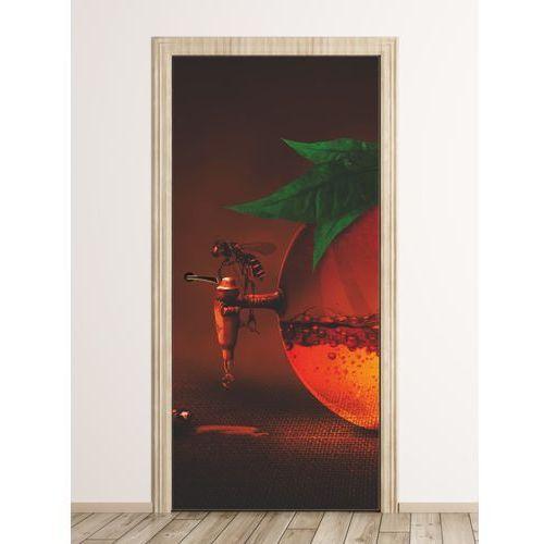 Wally - piękno dekoracji Fototapeta na drzwi pszczoła fp 6099