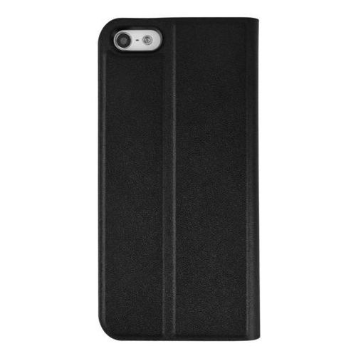 Etui AZURI Ultrathin Booklet iPhone 5/5S/SE czarne