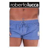 Szorty kapielowe męskie 80141 00815 denim, Roberto lucca