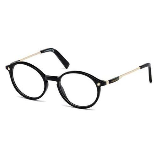 Okulary korekcyjne  dq5199 001 marki Dsquared2