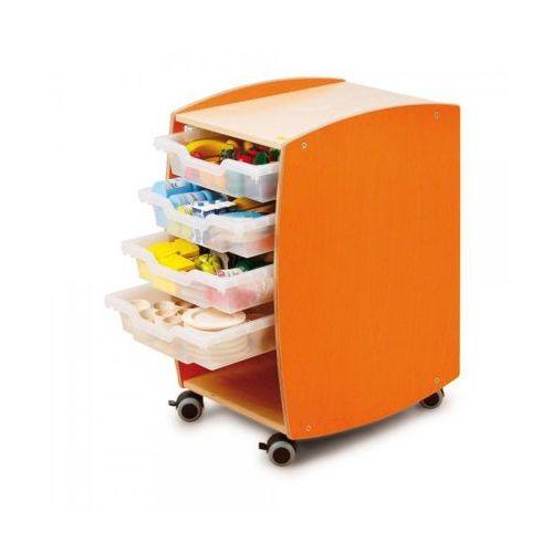 Żywienie - duży kontener z klockami - zabawki dla dzieci
