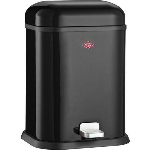Kosz na śmieci czarny pedałowy Single Boy 13 litrów Wesco (132212-62), 132212-62