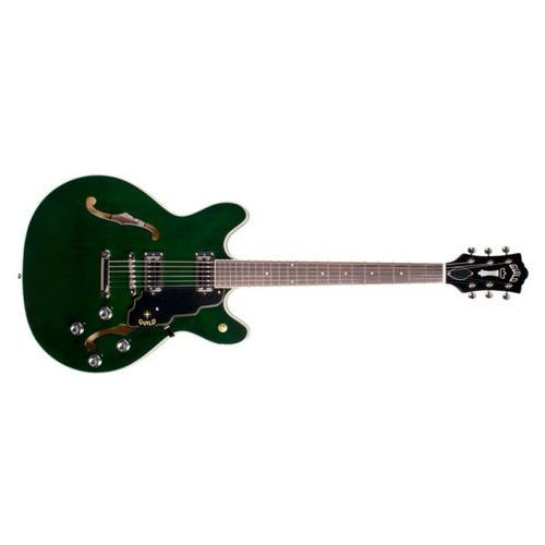 GUILD Starfire IV ST Maple, Emerald Green gitara elektryczna (gitara elektryczna)