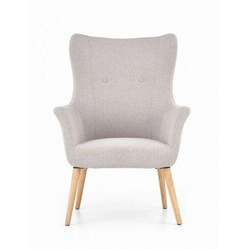 Halmar Fotel tapicerowany cotto jasny popiel (2010001159278)