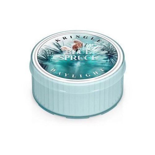 Kringle candle Blue spruce mała świeca niebieski śnieg- daylight 1,25oz, 35g, 1 knot