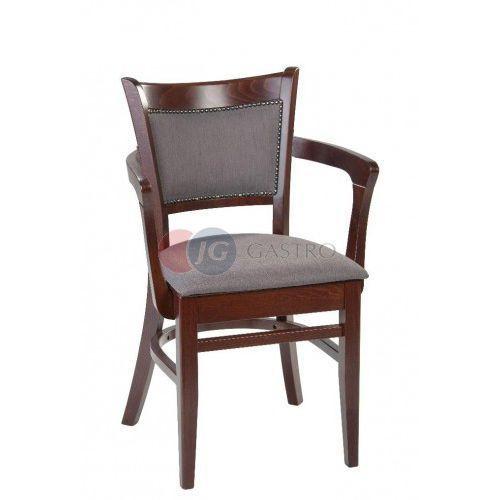 Krzesło z podłokietnikiem Buk Paged B-5406, B-5406