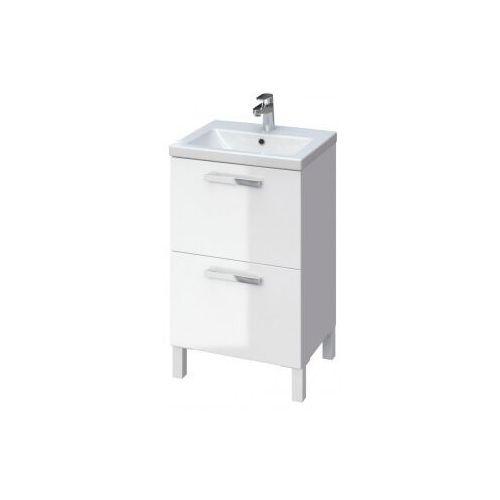 CERSANIT MELAR zestaw wiszący/stojący umywalka Como 50 + szafka Melar, kolor biały S801-272, S801-272