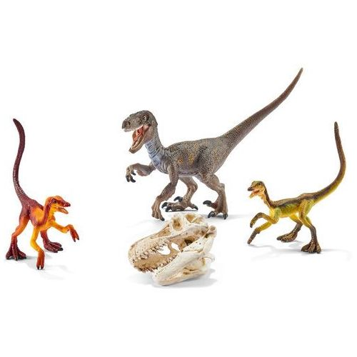 Schleich , figurka welociraptor na polowaniu (4005086422599)