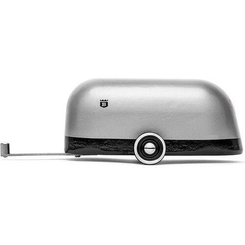 Dekoracja przyczepa camper srebrna z powłoką aluminiową marki Candylab