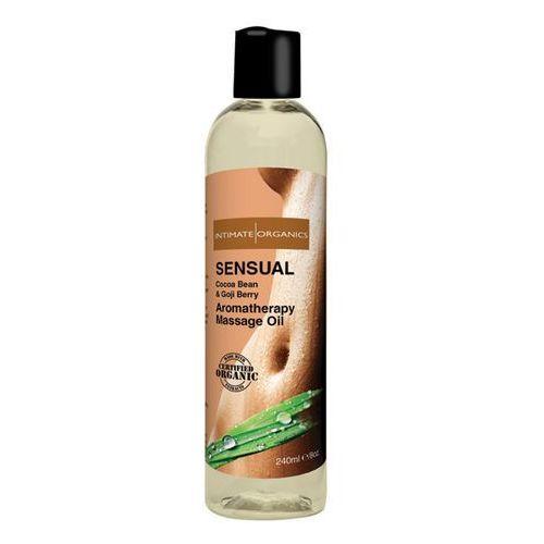 Olejek do masażu organiczny - sensual massage oil 240 ml marki Intimate organics