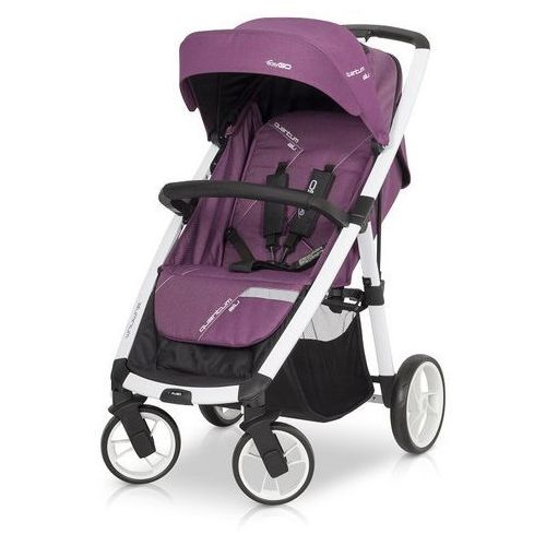 Wózek EasyGo Quantum White Line Purple