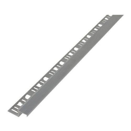 Profil aluminiowy schodowy Diall prosty surowe aluminium 2,5 m (3663602912125)
