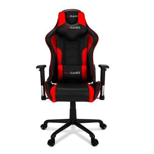Fotel gamingowy MAVERIC czerwony PRO-GAMER dla graczy