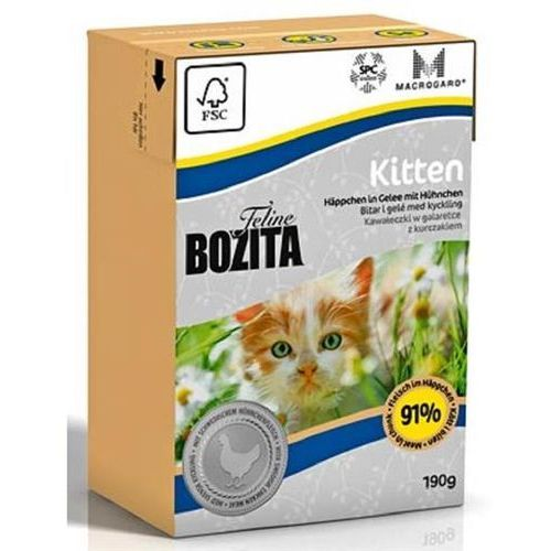 Bozita feline kitten - tetra pak 190g - 190 g
