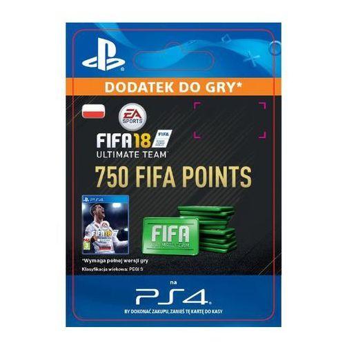 Sony Fifa 18 750 punktów [kod aktywacyjny]