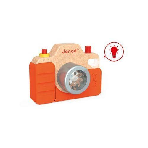 Janod Drewniany aparat fotograficzny z dźwiękami j05335