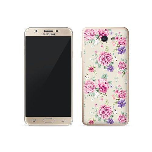 Etuo fantastic case Samsung galaxy j7 prime - etui na telefon fantastic case - pastelowe różyczki