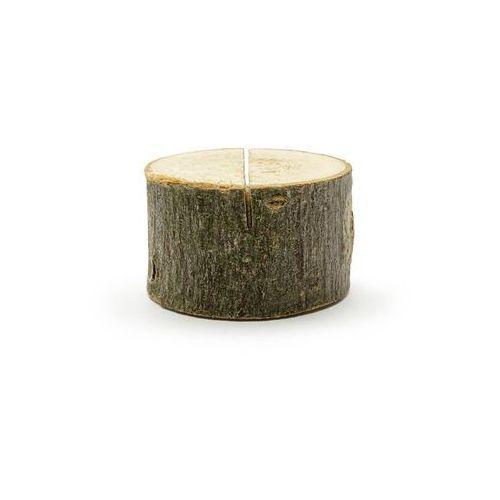 Drewniane podstawki pod wizytówki - 10 szt. marki Party deco