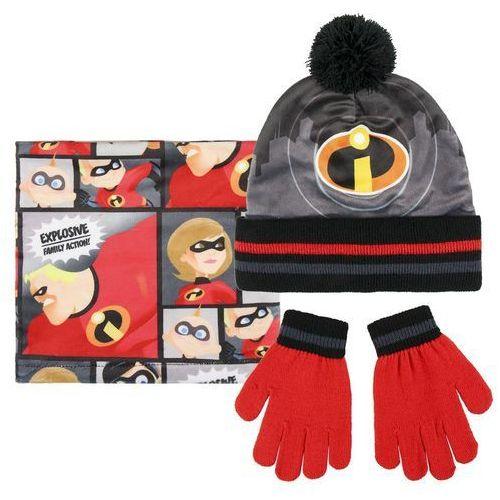 Komplet: czapka jesienna / zimowa, komin i rękawiczki iniemamocni marki Cerda