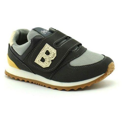 Sportowe buty dziecięce Befado 516Y040 - Szary ||Złoty, kolor szary