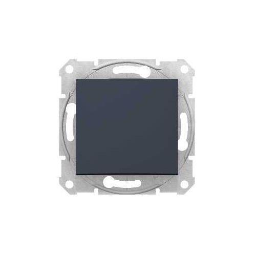 Schneider electric Przycisk zwierny schneider sedna sdn0700170 pojedynczy grafit (8690495032895)
