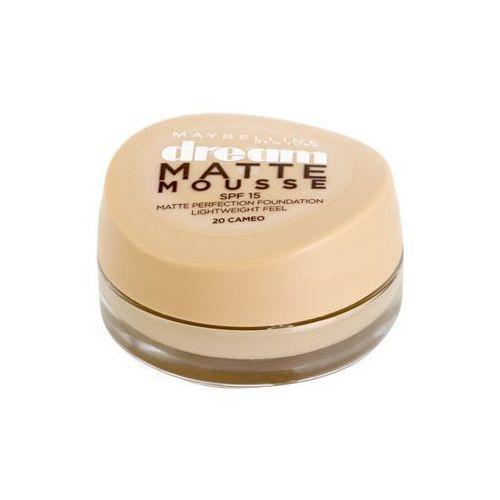 dream matte mousse podkład matujący podkład matujący odcień 20 cameo 18 ml marki Maybelline