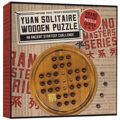 Professor puzzle - yuan solitaire wooden puzzle - hasbro (5060506530222)