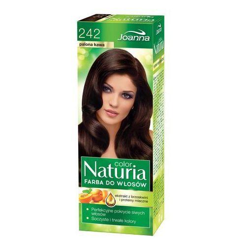 naturia color farba do włosów palona kawa nr 242 marki Joanna