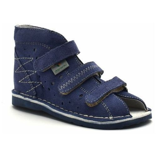 Dziecięce buty profilaktyczne t105/115 jeans marki Danielki