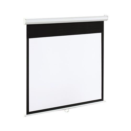 ART Ekran Elektryczny 4:3 100'' 203x152cm biały DARMOWA DOSTAWA DO 400 SALONÓW !! z kategorii Ekrany projekcyjne