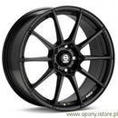 Felga aluminiowa Sparco Assetto Gara Black 7,5X17 5X112 ET35 (felga aluminiowa)