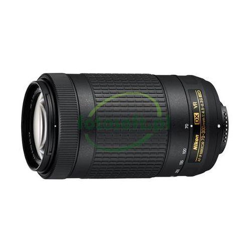 Af-p nikkor 70-300mm f/4.5-5.6e ed vr wysyłka gratis / odbiór warszawa / tel. 500 005 235! marki Nikon