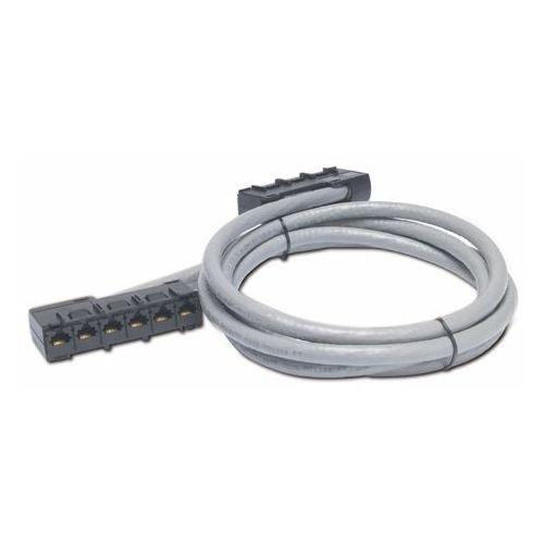 APC Data Distribution Cable, CAT5e UTP CMR Gray, 6xRJ-45 Jack to 6xRJ-45 Jack, 67ft (20,4m), DDCC5E-067
