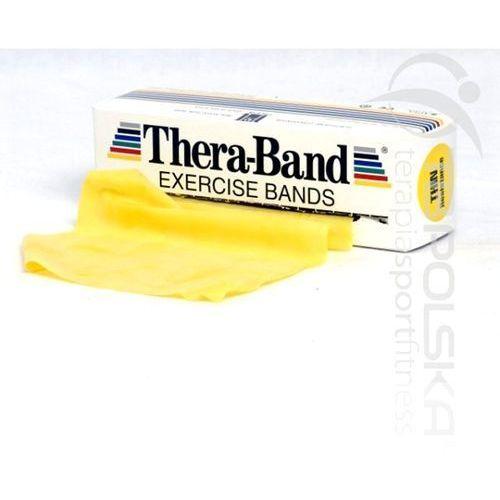 Thera band taśmy rehabilitacyjne, długość: 2,5 m, opór taśmy: słaby marki Thera - band