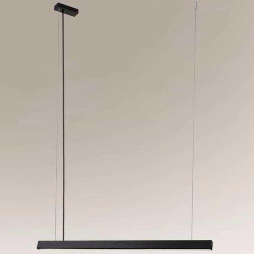 LAMPA wisząca ISASEKI 1946 Shilo metalowa OPRAWA listwa LED 16W 3000K zwis czarny (5903689919463)