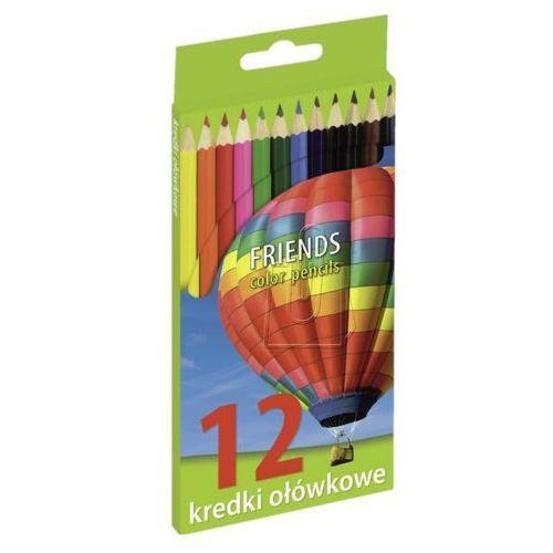 Grand Kredki ołówkowe 12 kol. friends (5903364245627)