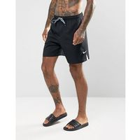 Nike Core Short Swoosh Swim Shorts In Black NESS7424001 - Black, kolor czarny