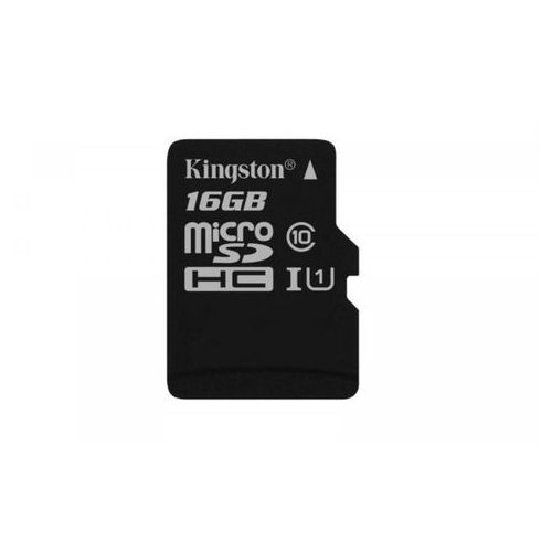 KINGSTON microSD 16GB Canvas Select 80/10MB/s (SDCS/16GBSP) >> KUP W NEO24.PL I ZYSKAJ 20% NA DRUGI TAŃSZY PRODUKT, SDCS/16GBSP