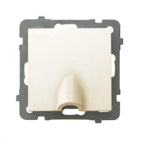 Ospel as gppk-1g/m/27 przyłącz kablowy ecru