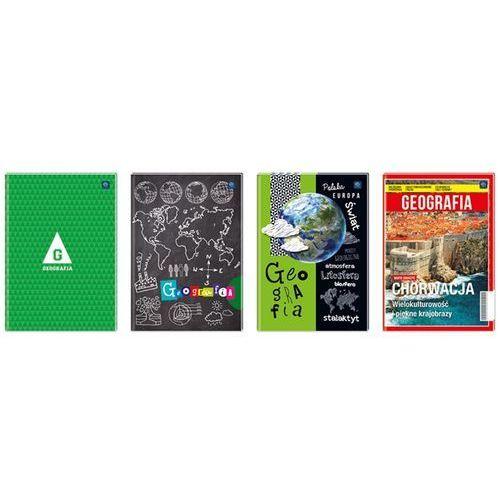 Interdruk Brulion A5 80 kartek w kratkę Geografia Darmowy odbiór w 19 miastach!