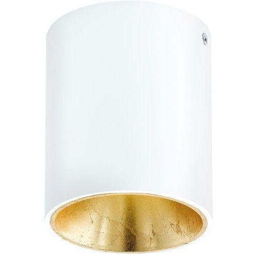 Plafon Eglo Polasso 94503 lampa oprawa sufitowa spot 1x 3,3W biały/ złoty LED (9002759945039)