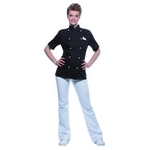 Bluza kucharska damska, rozmiar 46, czarna | KARLOWSKY, Pauline