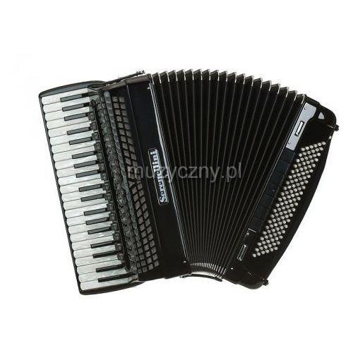 cassotto professional 414 (2+2) 41/4/15+m 120/5/7 piccolo akordeon (czarny) marki Serenellini
