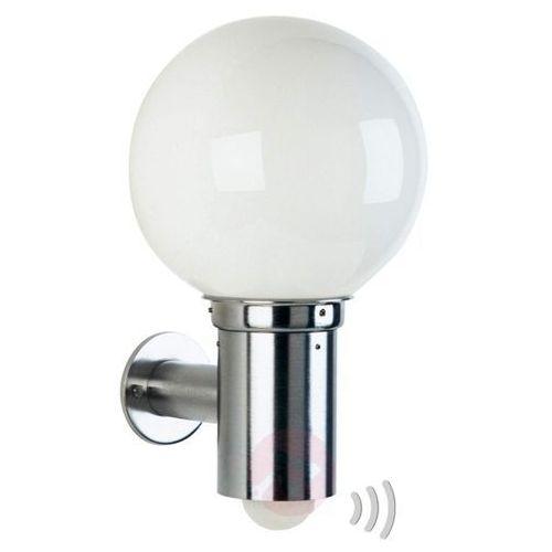 Kulista zewnętrzna lampa ścienna 157 z czujnikiem marki Albert leuchten