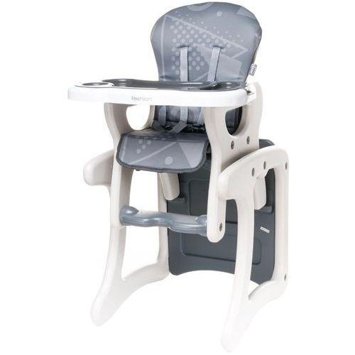 4Baby Krzesełko do karmienia Fashion, Grey (5901691954533)