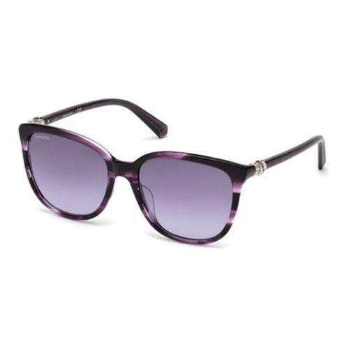 Okulary słoneczne sk0146-h 81z marki Swarovski